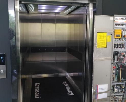 elevadores de carga vertical