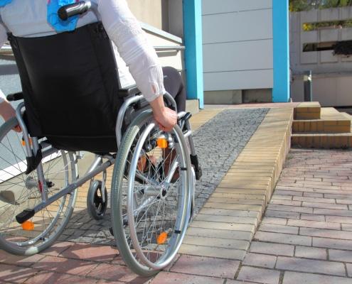 acessibilidade em clínicas